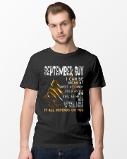 September guy I can be as sweet as candy  Classic T-Shirt lifestyle-mens-crewneck-front-15