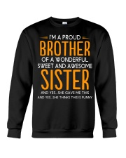 I'm a proud brother of a wonderful sweet  Crewneck Sweatshirt thumbnail