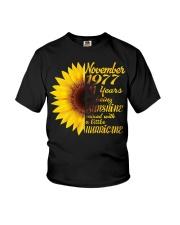 November 1977 41 years of being sunshine mixed  Youth T-Shirt thumbnail