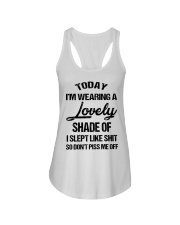Today I'm wearing a lovely shade of I slept like Ladies Flowy Tank thumbnail