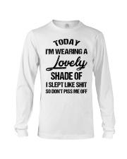 Today I'm wearing a lovely shade of I slept like Long Sleeve Tee thumbnail