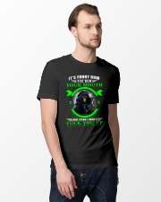 It's funny how you run your mouth and think  Classic T-Shirt lifestyle-mens-crewneck-front-12