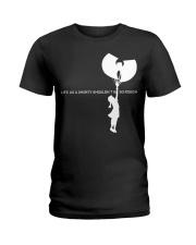 life as a shorty shouldn't be so rough Ladies T-Shirt thumbnail