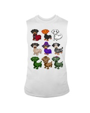 Dachshund happy Halloweiner  Sleeveless Tee thumbnail