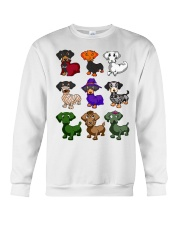 Dachshund happy Halloweiner  Crewneck Sweatshirt thumbnail