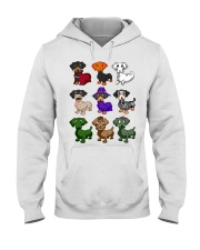 Dachshund happy Halloweiner  Hooded Sweatshirt thumbnail