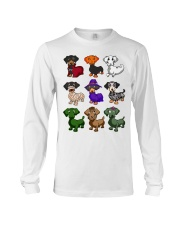 Dachshund happy Halloweiner  Long Sleeve Tee thumbnail