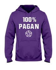 Viking 100 pagan Hooded Sweatshirt thumbnail
