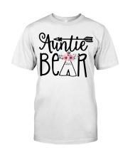 Auntie bear floral Classic T-Shirt thumbnail
