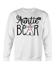 Auntie bear floral Crewneck Sweatshirt thumbnail