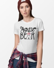 Auntie bear floral Ladies T-Shirt lifestyle-women-crewneck-front-9