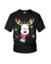 Christmas Reindeer  Youth T-Shirt thumbnail