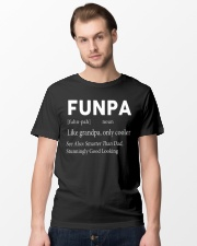 Funpa  definition see also smarter than dad Classic T-Shirt lifestyle-mens-crewneck-front-15
