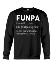 Funpa  definition see also smarter than dad Crewneck Sweatshirt thumbnail