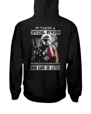 It takes a special person to risk so much for Hooded Sweatshirt thumbnail