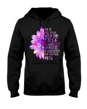 She was life itself wild and wonderfully  Hooded Sweatshirt thumbnail