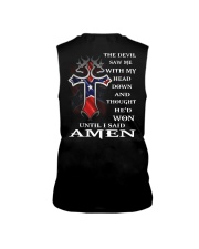 Cross the devil saw me with my head down  Sleeveless Tee thumbnail
