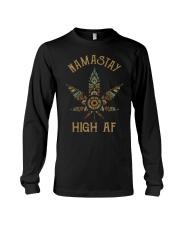 Weed namastay high af Long Sleeve Tee thumbnail