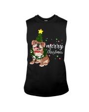 Merry Christmas pug dog  Sleeveless Tee thumbnail