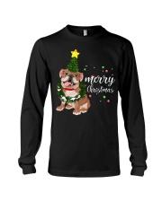 Merry Christmas pug dog  Long Sleeve Tee thumbnail
