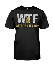 where's the fire glitter Premium Fit Mens Tee front