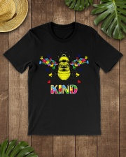 Autism awareness bee kind Premium Fit Mens Tee lifestyle-mens-crewneck-front-18