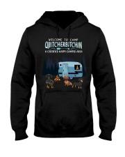 Welcome to camp Quitcherbitchin Dachshund dog  Hooded Sweatshirt thumbnail