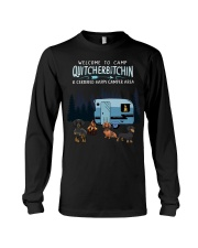Welcome to camp Quitcherbitchin Dachshund dog  Long Sleeve Tee thumbnail