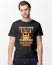 You can't scare me I'm a Fa boo lous childcare  Classic T-Shirt lifestyle-mens-crewneck-front-15