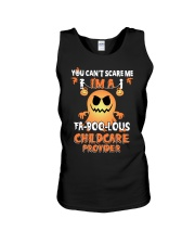 You can't scare me I'm a Fa boo lous childcare  Unisex Tank tile
