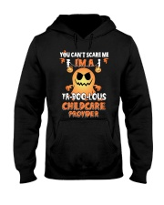 You can't scare me I'm a Fa boo lous childcare  Hooded Sweatshirt thumbnail