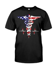 American nurse flag doctor proud  Premium Fit Mens Tee thumbnail