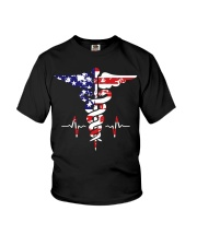 American nurse flag doctor proud  Youth T-Shirt thumbnail