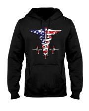 American nurse flag doctor proud  Hooded Sweatshirt thumbnail