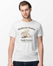 Mushroom hunting guide service  Classic T-Shirt lifestyle-mens-crewneck-front-15