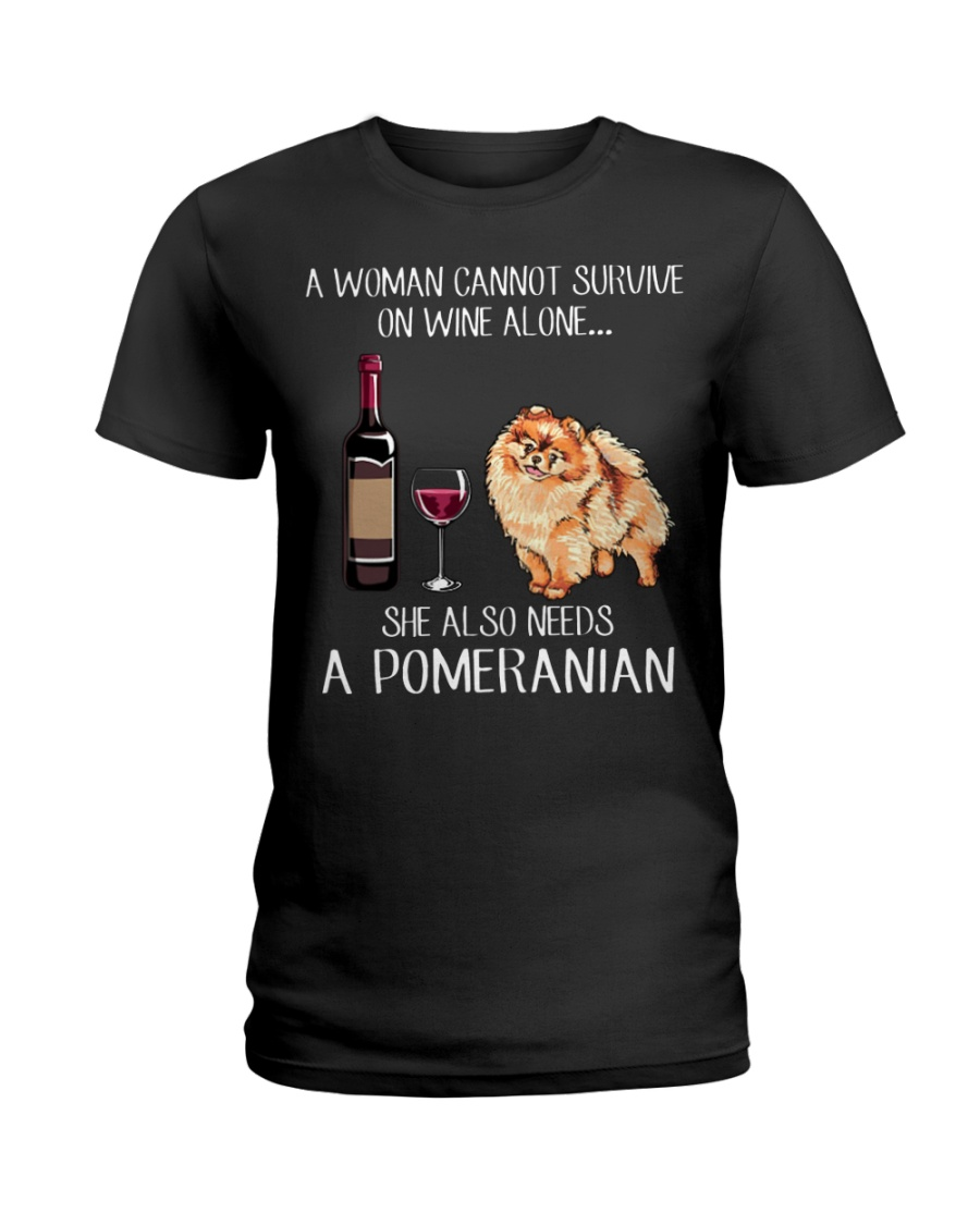 Back off I have a crazy pitbull mom Ladies T-Shirt