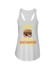 I'm into fitness fitness whataburger in my mouth Ladies Flowy Tank thumbnail