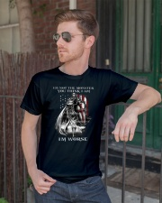 Don't ever mistake my silence for ignorance Classic T-Shirt lifestyle-mens-crewneck-front-2