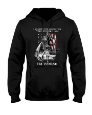 Don't ever mistake my silence for ignorance Hooded Sweatshirt thumbnail