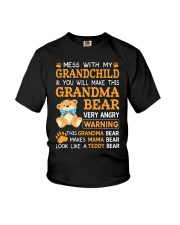 Mess with my grandchild and you will make Youth T-Shirt thumbnail