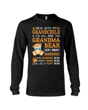 Mess with my grandchild and you will make Long Sleeve Tee thumbnail