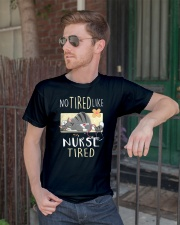 No tired like nurse tired cat  Classic T-Shirt lifestyle-mens-crewneck-front-2