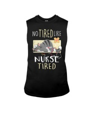 No tired like nurse tired cat  Sleeveless Tee tile