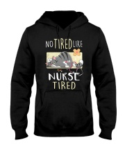 No tired like nurse tired cat  Hooded Sweatshirt thumbnail