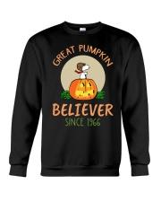 Great pumpkin believer since 1966  Crewneck Sweatshirt thumbnail