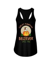 Great pumpkin believer since 1966  Ladies Flowy Tank thumbnail