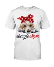 Beagle mom Premium Fit Mens Tee thumbnail