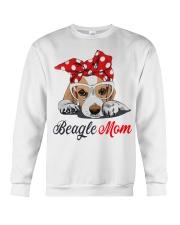 Beagle mom Crewneck Sweatshirt thumbnail