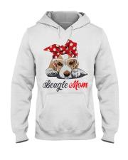 Beagle mom Hooded Sweatshirt thumbnail