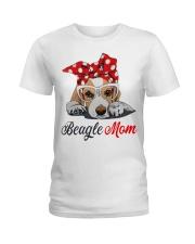Beagle mom Ladies T-Shirt front